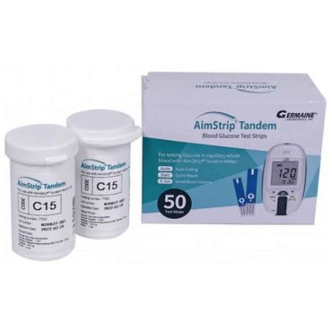 aimstrip tandem blood glucose test strips